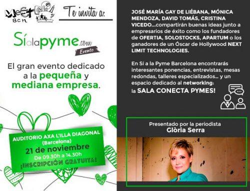 Meet BCN te invita al evento Sí a la Pyme Barcelona