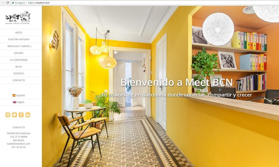 pagina web meet bcn