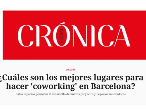 ¡Meet BCN entre los mejores coworkings de Barcelona!, según Crónica Global