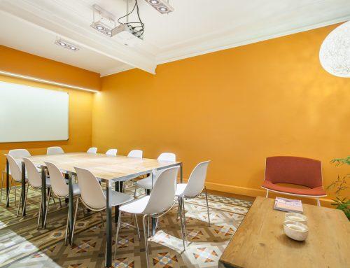 ¿Por qué alquilar una sala de reuniones de un coworking?