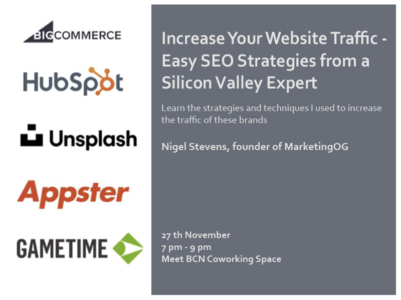 seo strategies workshop