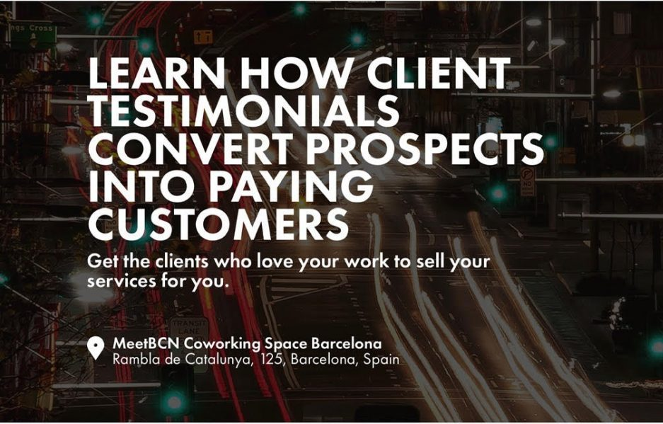Learn how client testimonials convert prospects into paying clients