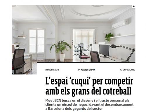 ¡Meet BCN en Emprenem, la revista para emprendedores del diari Ara!